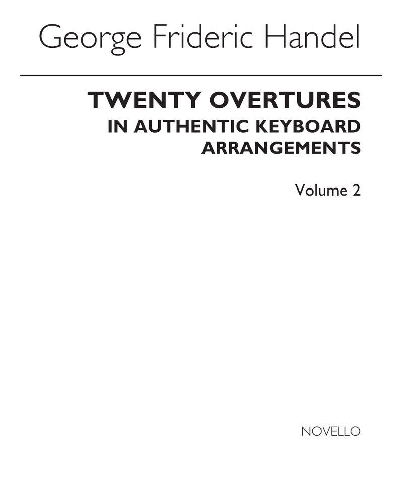 20 Overtures, Vol. 2
