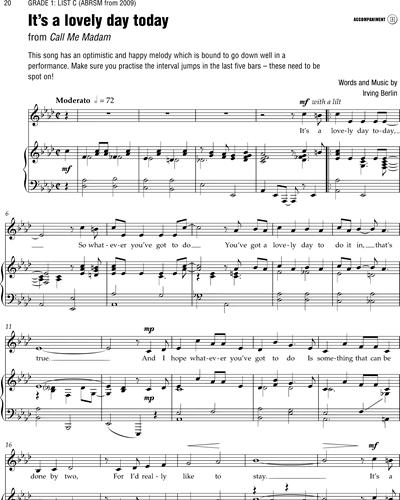 Sheet music by Irving Berlin on nkoda: The sheet music app