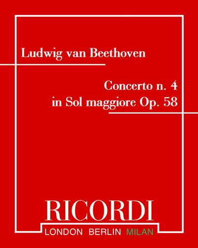 Concerto n. 4 in Sol maggiore Op. 58