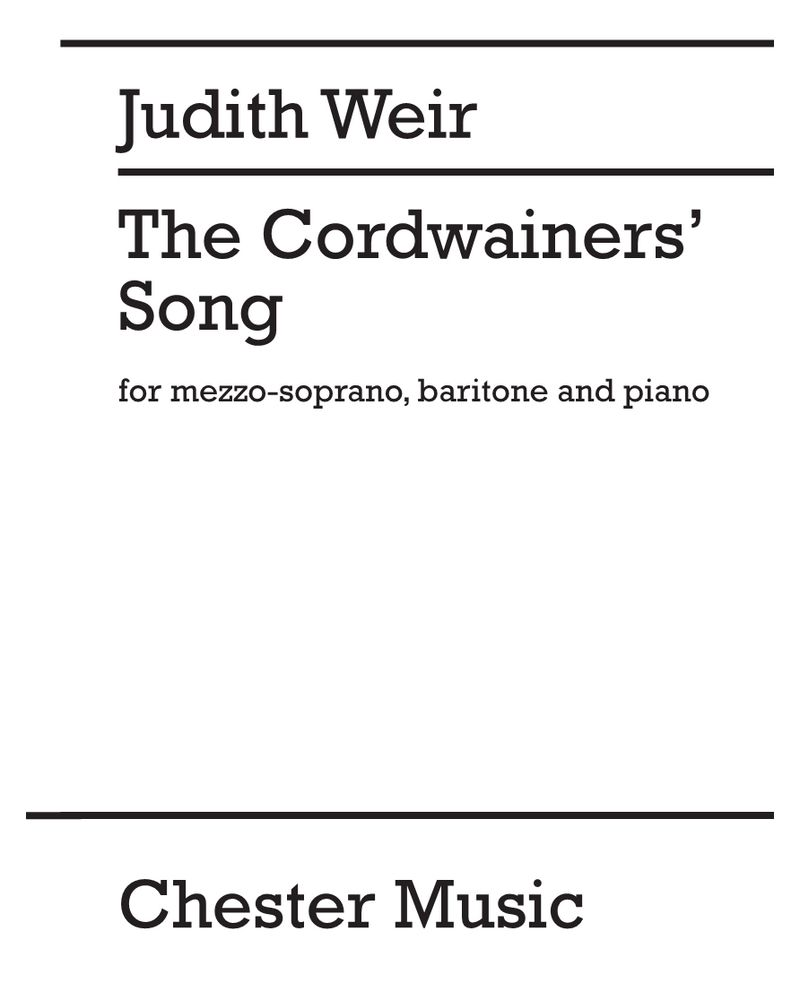 The Cordwainers' Song
