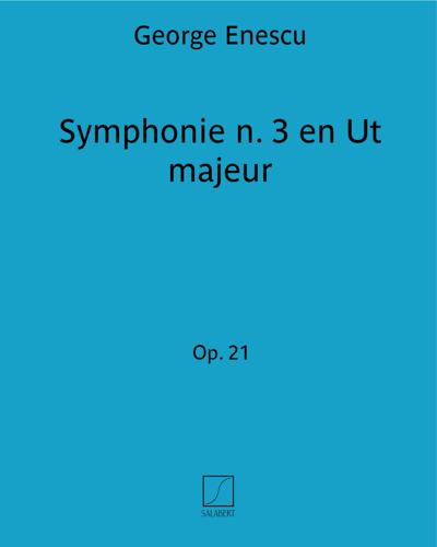Symphonie n. 3 en Ut majeur