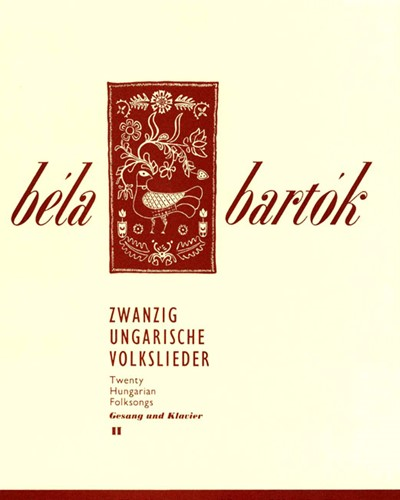 20 Hungarian Folksongs, Vol. 2