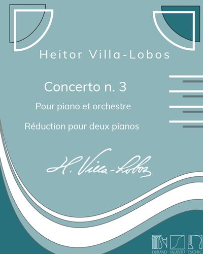 Concerto n. 3 - Réduction pour deux pianos