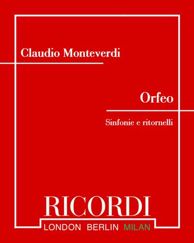 Orfeo - Sinfonie e ritornelli