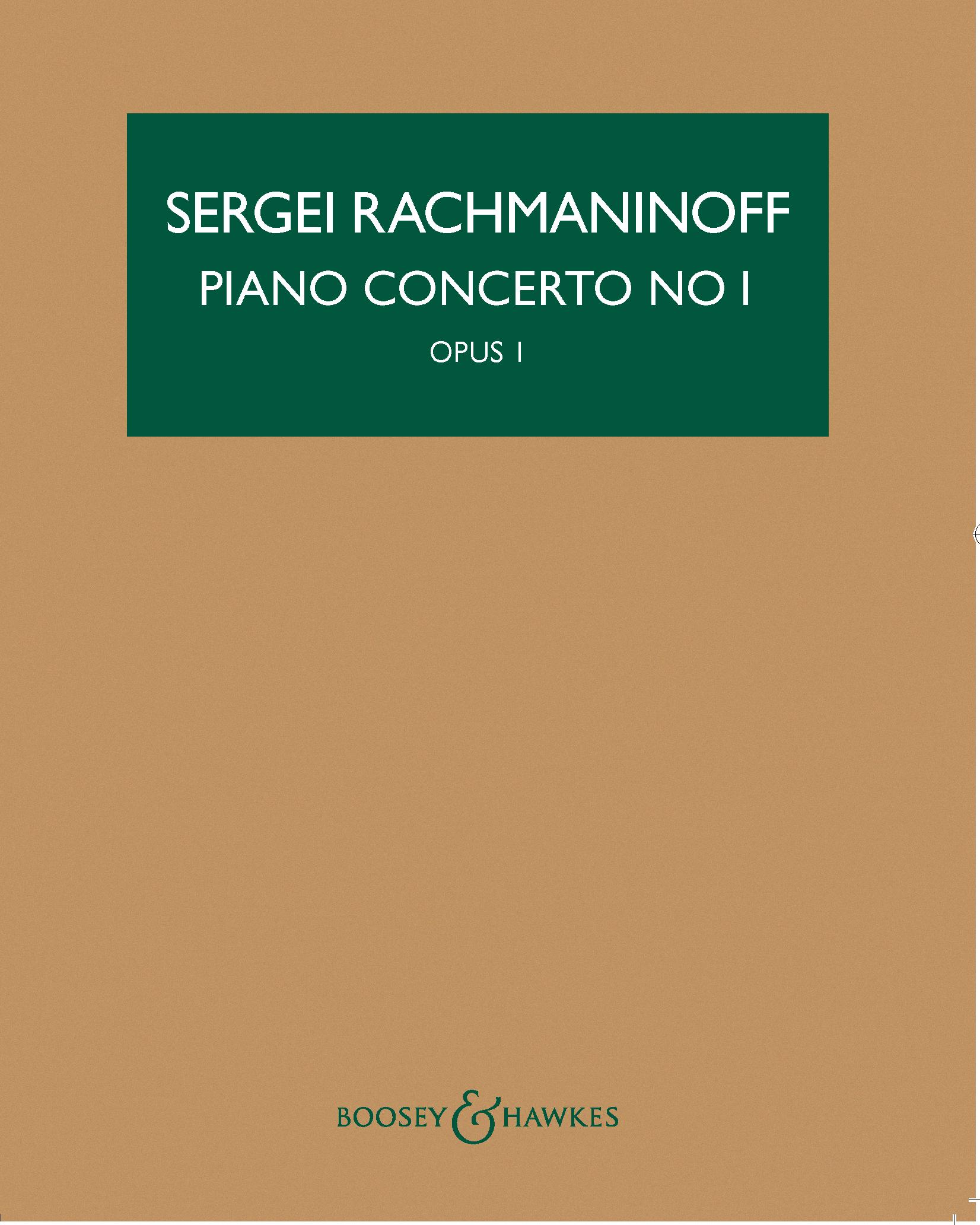 Piano Concerto No. 1 in F-sharp minor, op. 1