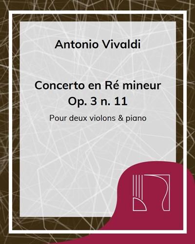 Concerto en Ré Mineur Op. 3 n. 11