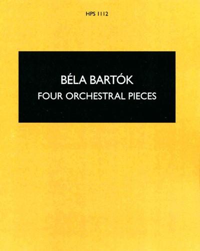 Four Orchestral Pieces, op. 12