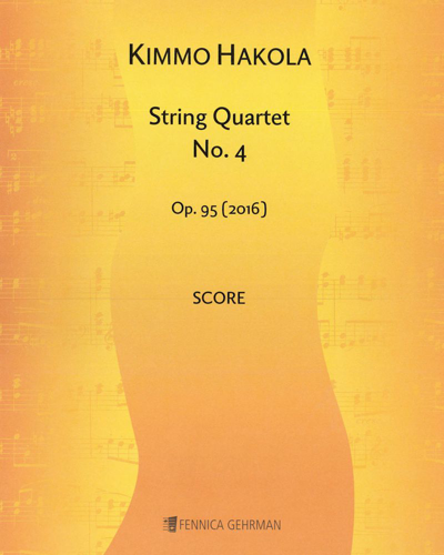 String Quartet No. 4, op. 95