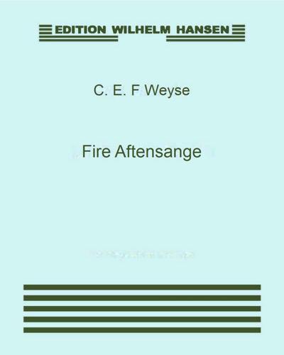 Fire Aftensange