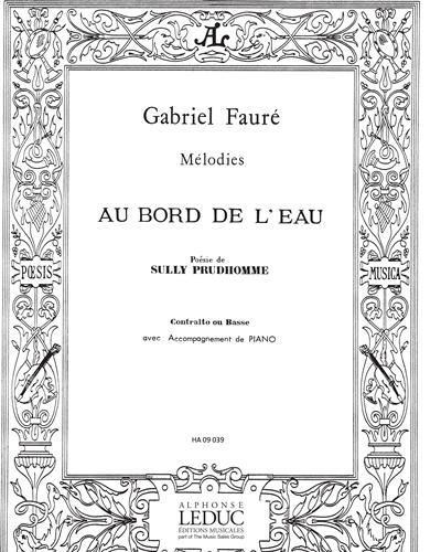 Au Bord de l'Eau Op. 8, No. 1