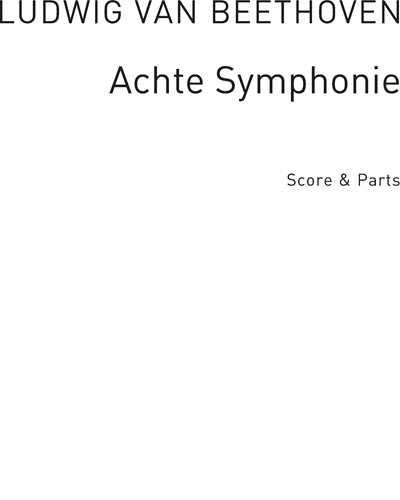 Allegretto Scherzando (from Achte Symphonie No. 8 Op. 93) arranged for Recorder Groups, Guitar and Percussion