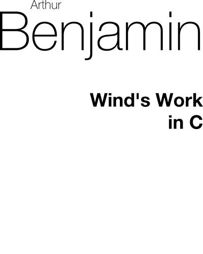 Wind Work (in C major)