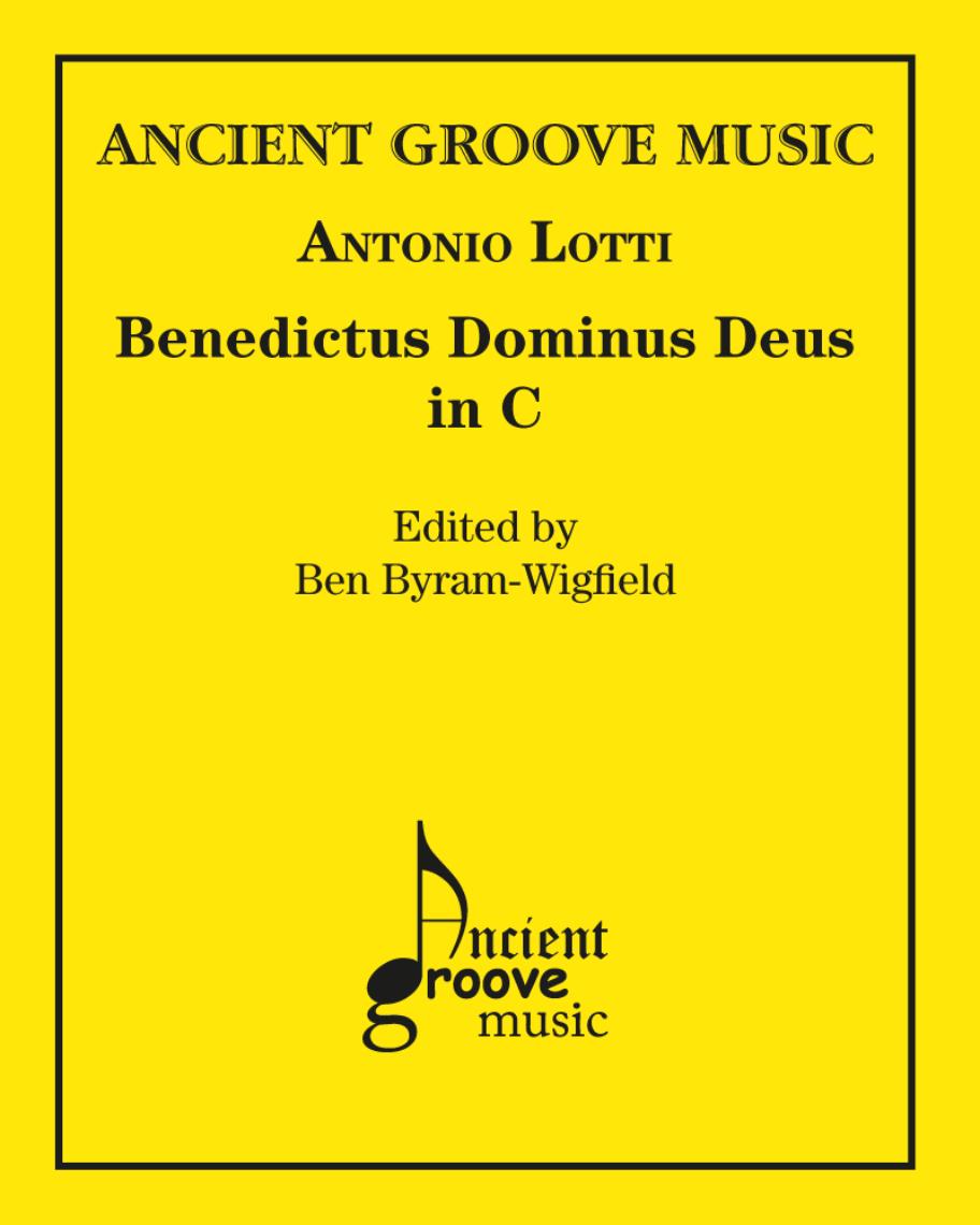 Benedictus Dominus Deus in C