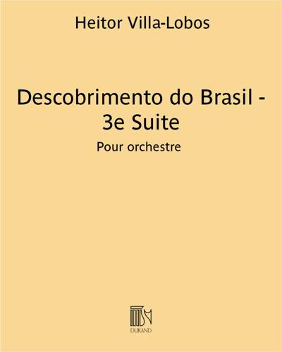Descobrimento do Brasil - 3e Suite