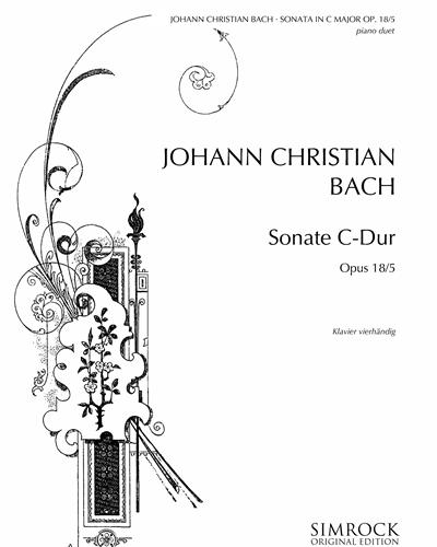 Sonata in C major, op. 18/5