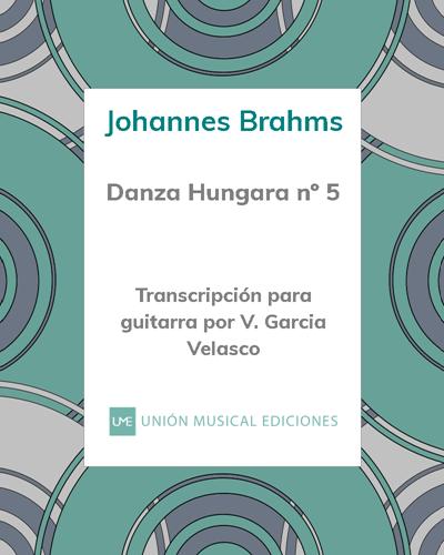 Danza húngara nº 5