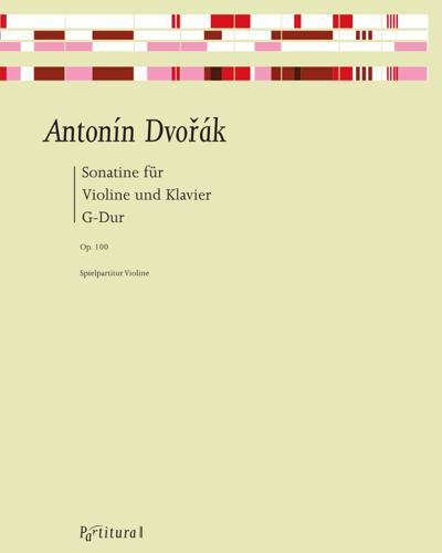 Sonatina G Major for Violin and Piano, op. 100
