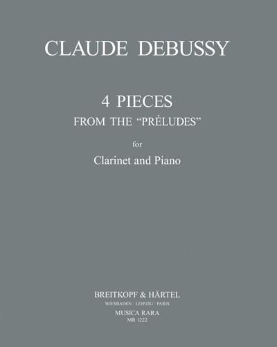 """4 Stücke aus den """"Préludes"""""""