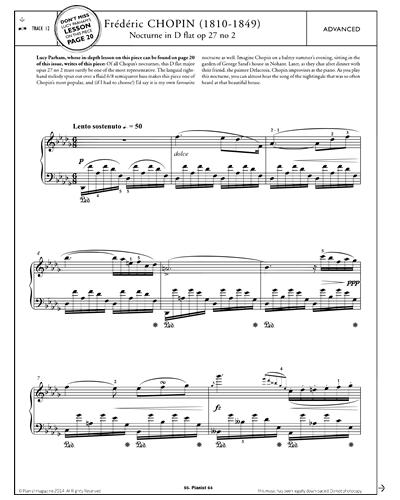 Nocturne in D flat Op.27 No.2
