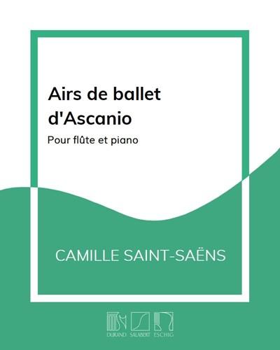 Airs de ballet d'Ascanio