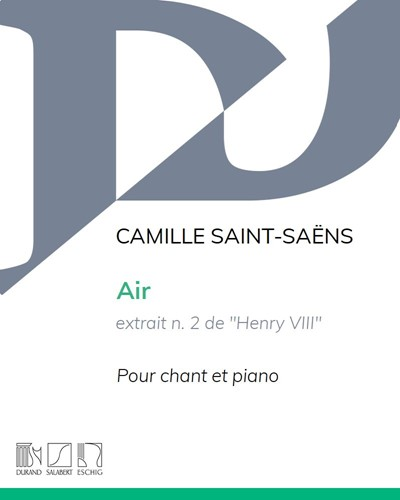 "Air (extrait n. 2 de ""Henry VIII"")"