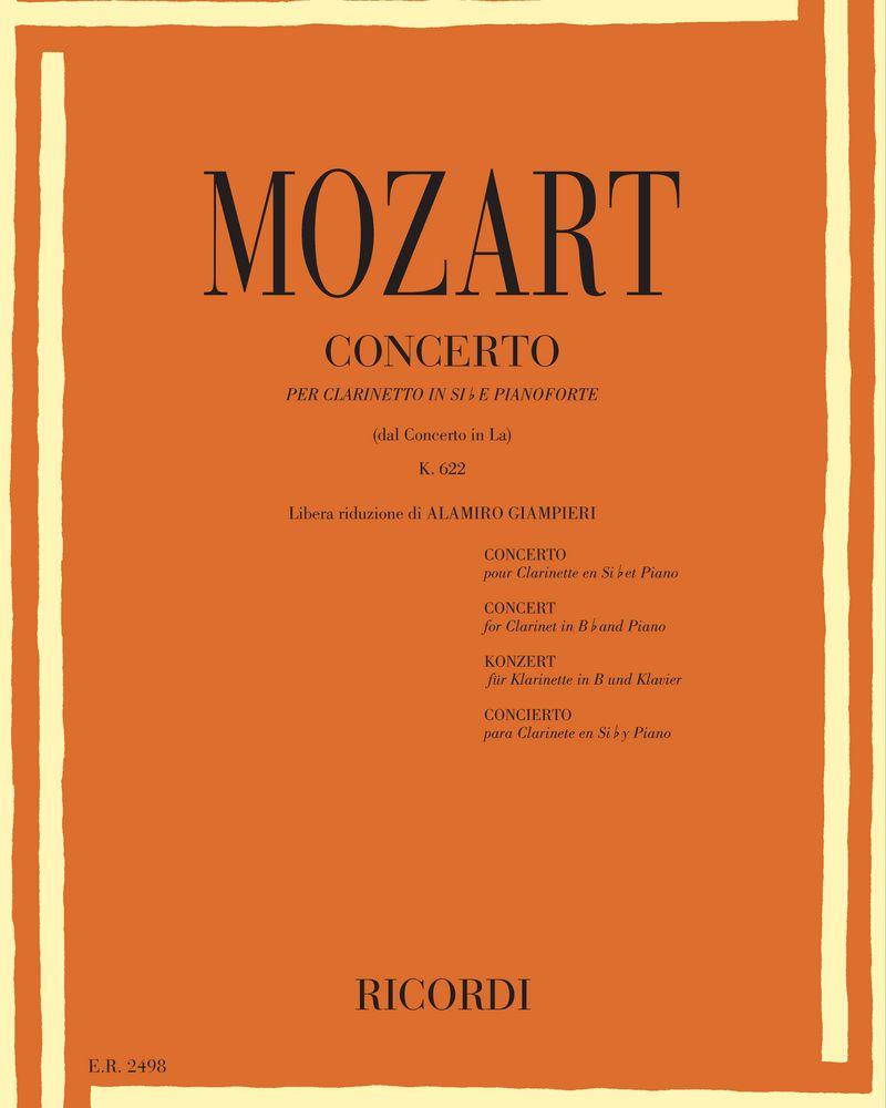 Concerto in La K. 622