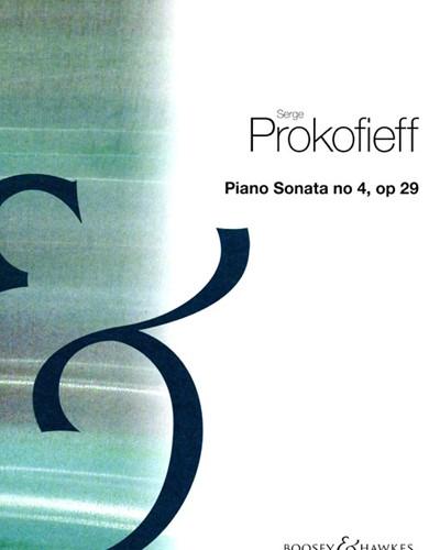 Piano Sonata No. 4, op. 29