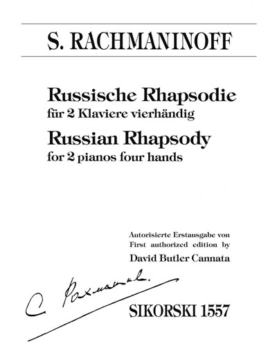 Russian Rhapsody [First Authorized Edition]