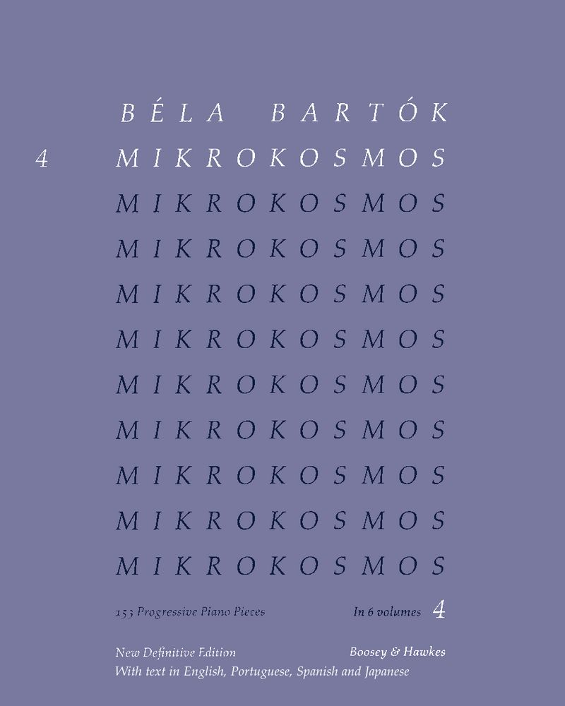 Mikrokosmos, Vol. 4