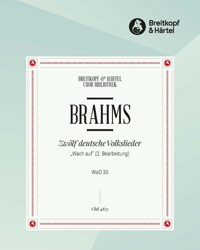 """12 deutsche Volkslieder WoO 35 - Nr. 2 """"Wach auf"""""""