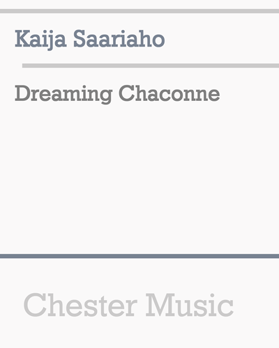 Dreaming Chaconne