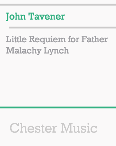 Little Requiem for Father Malachy Lynch