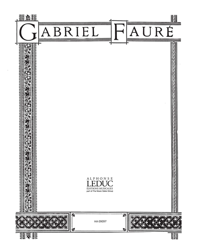 Fleur Jetée Op. 39, No. 2