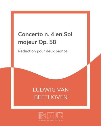 Concerto n. 4 en Sol majeur Op. 58