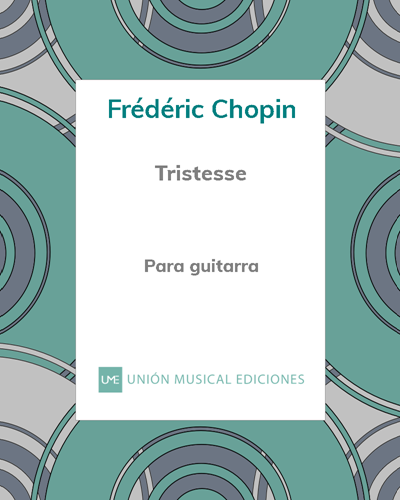 """Tristesse"" de Chopin para guitarra"
