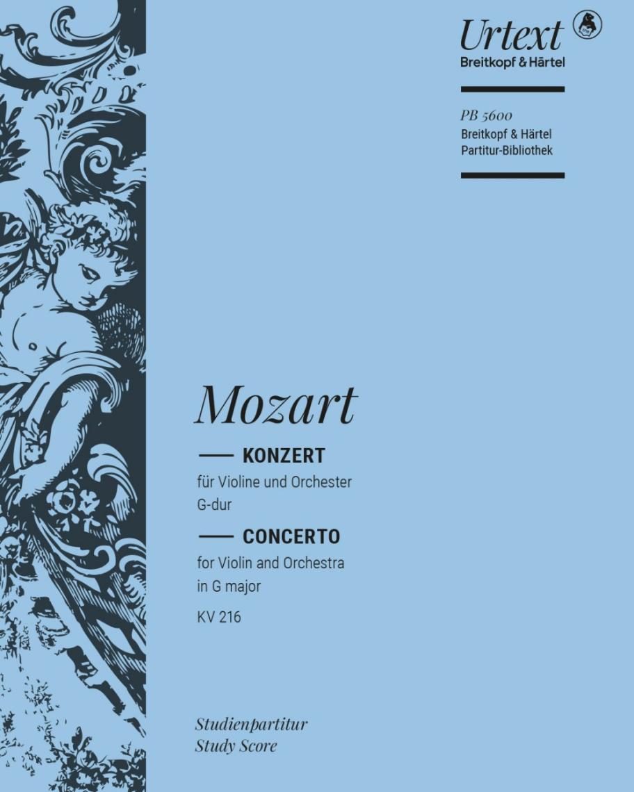 Violinkonzert [Nr. 3] G-dur KV 216