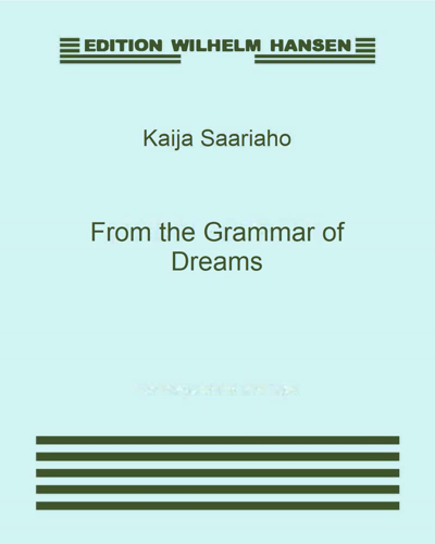 From the Grammar of Dreams