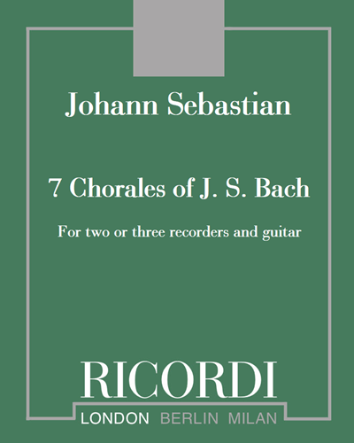 7 Chorales of J. S. Bach