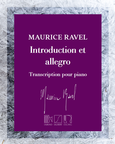 Introduction et allegro - Transcription pour piano