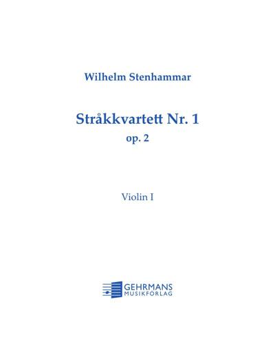 String Quartet No. 1 in C major