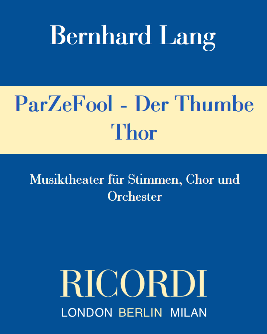 ParZeFool - Der Thumbe Thor