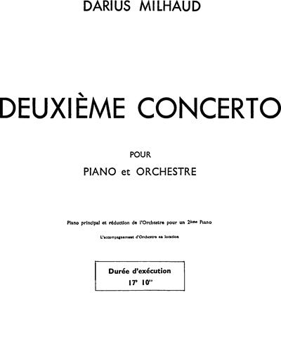 Piano Concerto No. 2, Op. 225