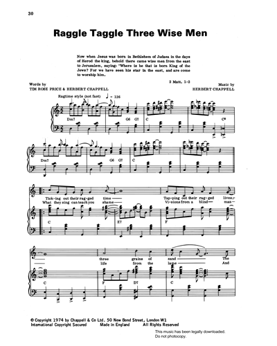 Raggle Taggle Three Wise Men (from 'Carols For Today')