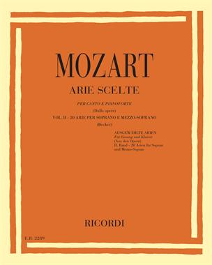 Arie scelte (dalle opere) Vol. 2 - 20 arie per soprano e mezzo-soprano