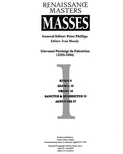 Renaissance Masters: Masses
