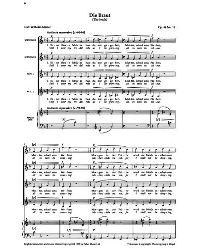 Die Braut (Op.44 No.11)