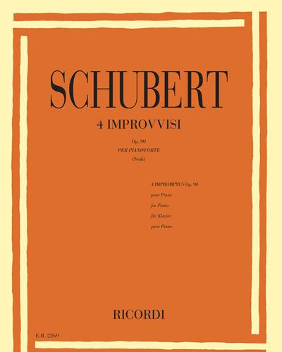 4 Improvvisi Op. 90