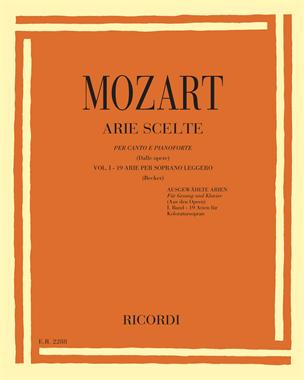 Arie scelte (dalle opere) Vol. 1 - 19 arie per soprano leggero
