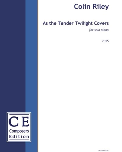 As the Tender Twilight Covers