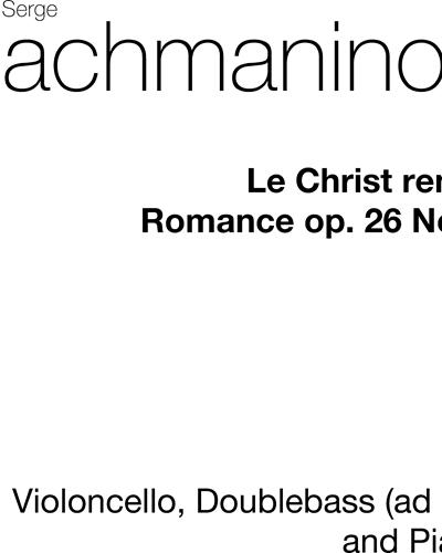 Romance for Cello & Piano, op. 26/6
